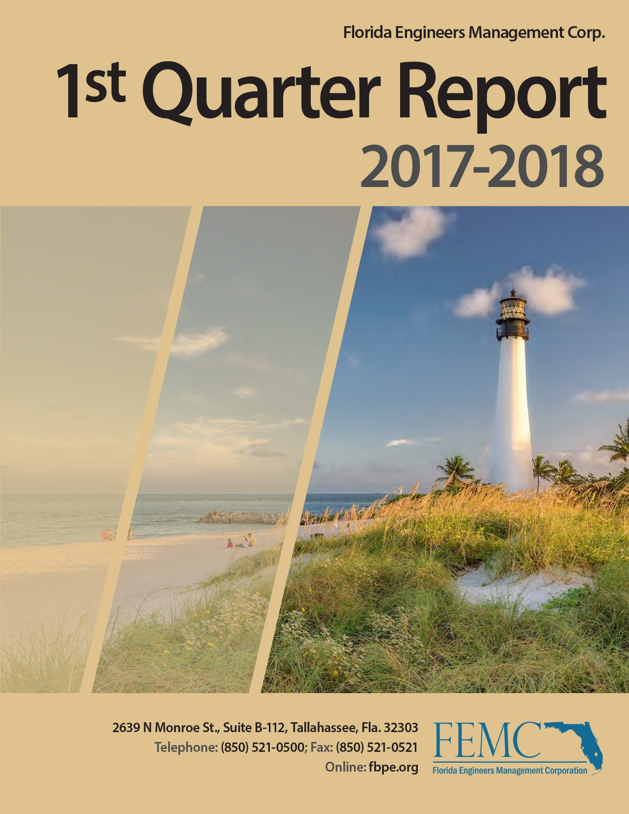 1st Quarter Report 2017-2018