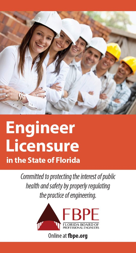 Engineer Licensure in the State of Florida