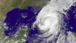 Hurricane Irma over Florida, September 2017