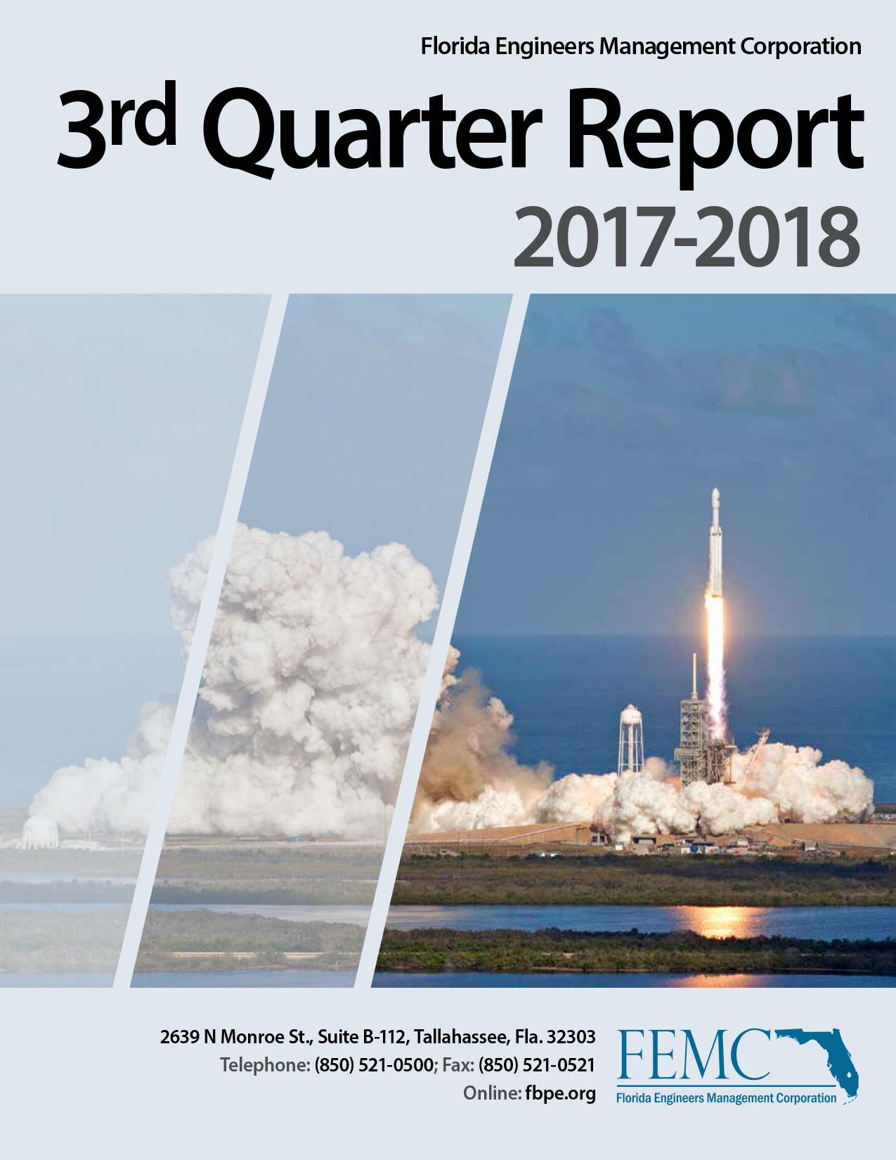 3rd Quarter Report 2017-2018