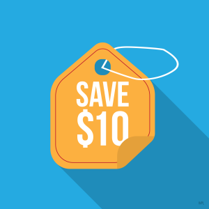Save $10 on Renewal
