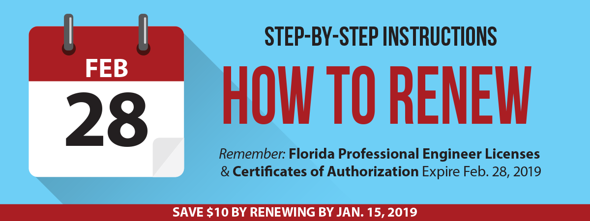 Licensure Renewal: Step-by-Step Instructions