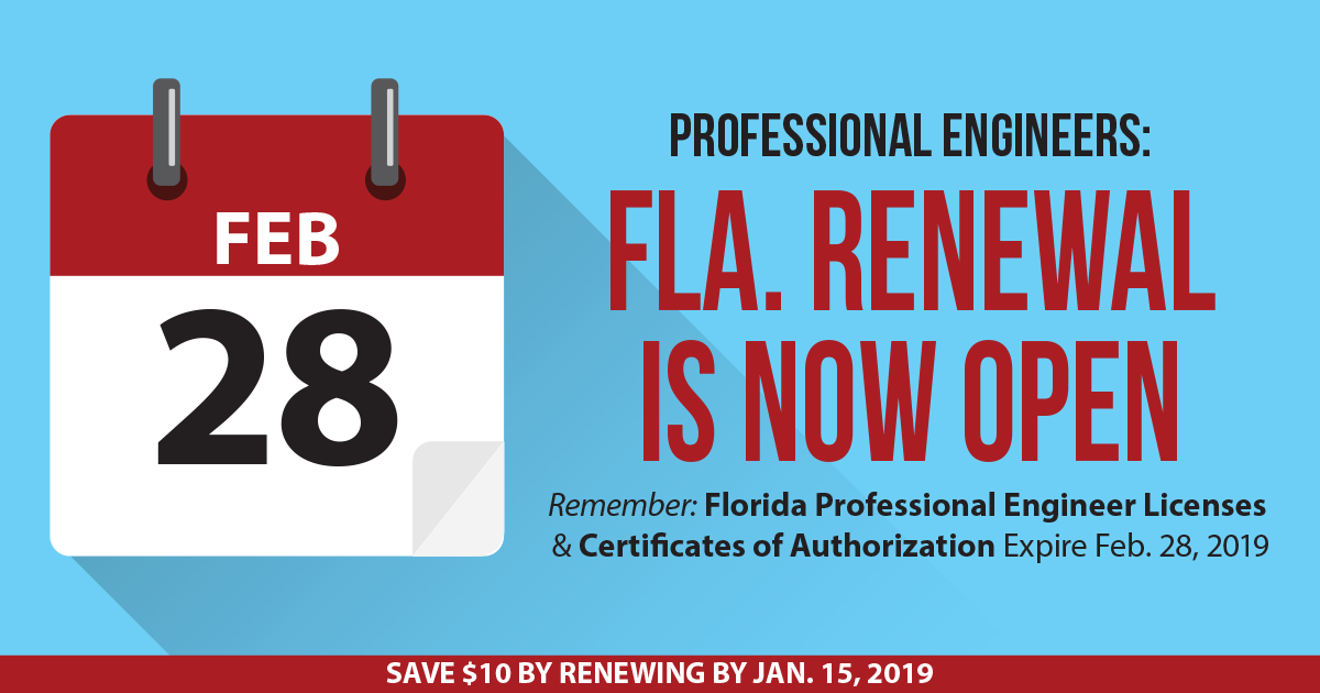 license renewal – florida board of professional engineers