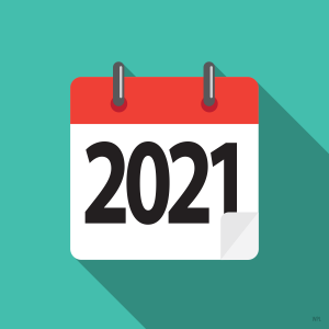 Calendar: 2021
